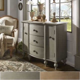 Copper Grove Grabfeld Antique Bun-foot 3-drawer Combo Chest