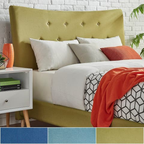 Carson Carrington Tillhed Linen Fabric King Size Headboard