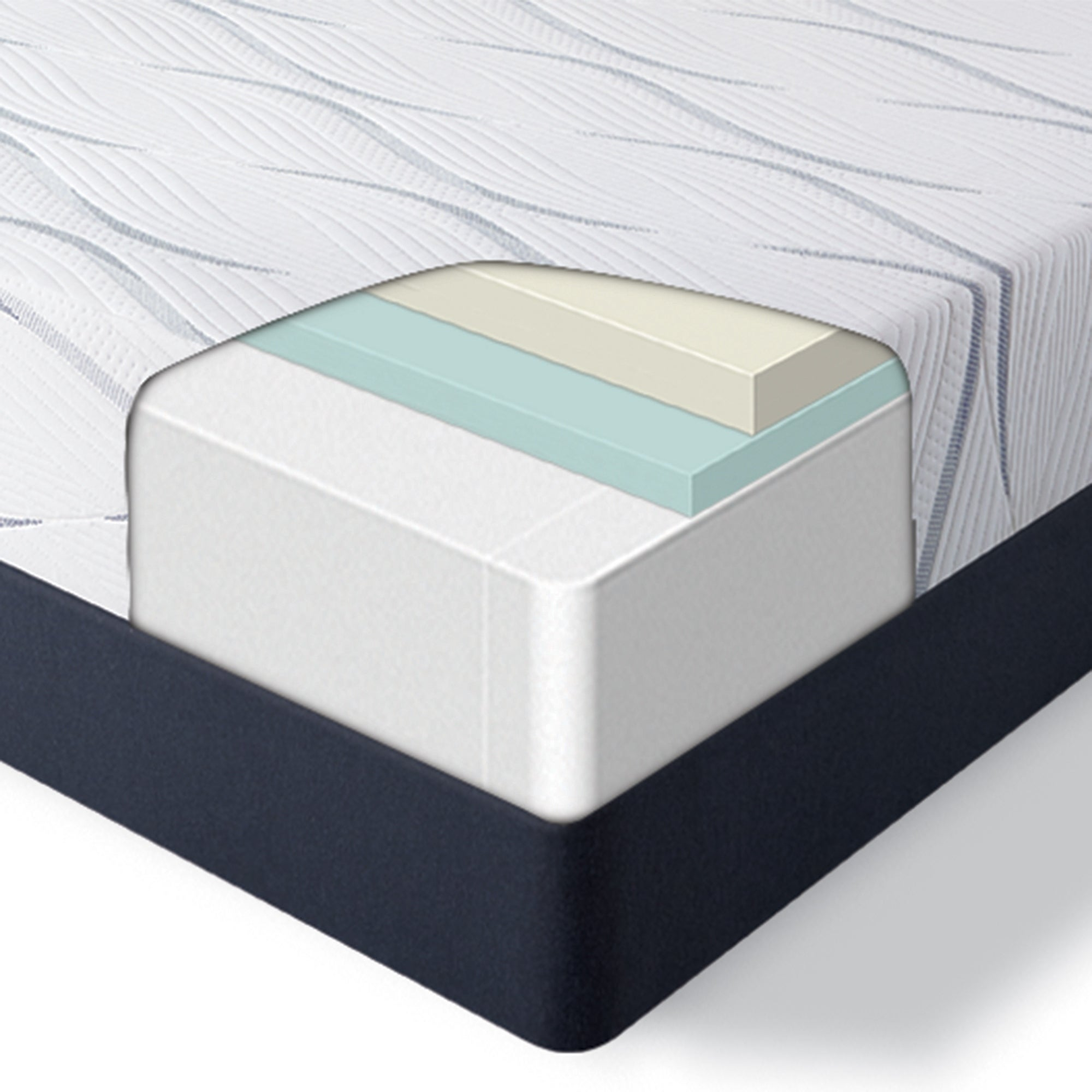 Serta Perfect Sleeper 12 Inch Southpoint Ii Medium Foam Mattress Overstock 28082034