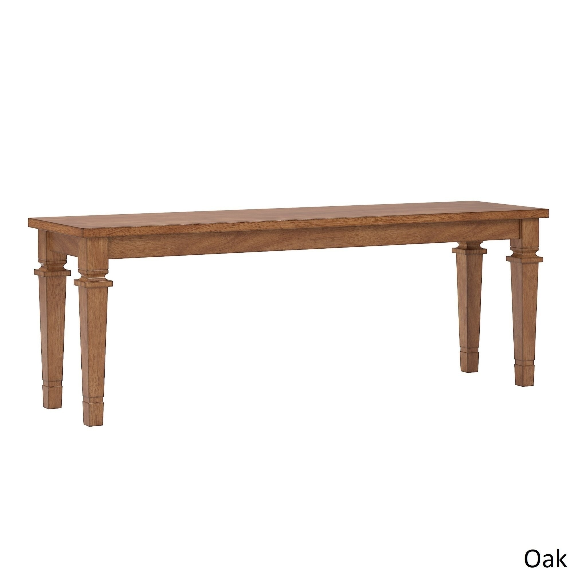 Super Elena Ii Solid Wood Dining Bench By Inspire Q Classic 55 X 84 Gmtry Best Dining Table And Chair Ideas Images Gmtryco