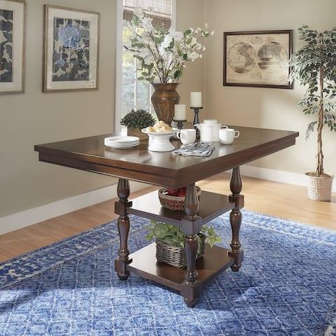 Copper Grove Krozingen Rectangular Counter-height Oak Dining Table