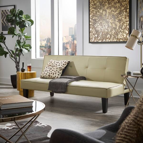 Awe Inspiring Shop Porch Den Evers Mini Futon Sofa Bed On Sale Free Alphanode Cool Chair Designs And Ideas Alphanodeonline
