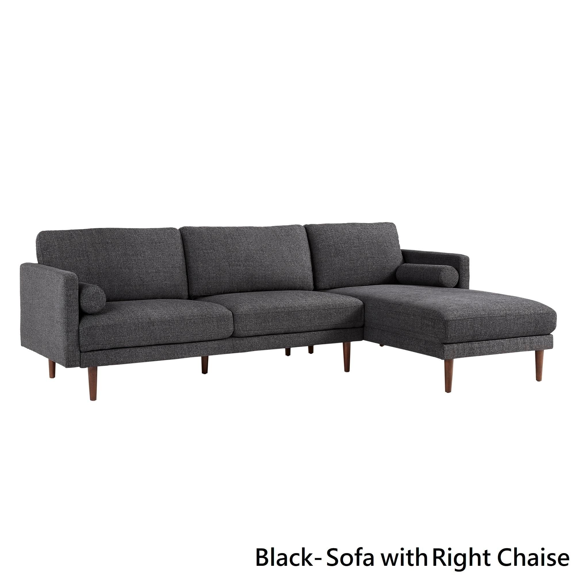 Carson Carrington Hjarpasen Rubberwood Sectional Sofa