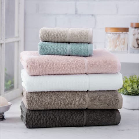 The Welhome Ultra Plush Anderson 6-Piece Towel Set