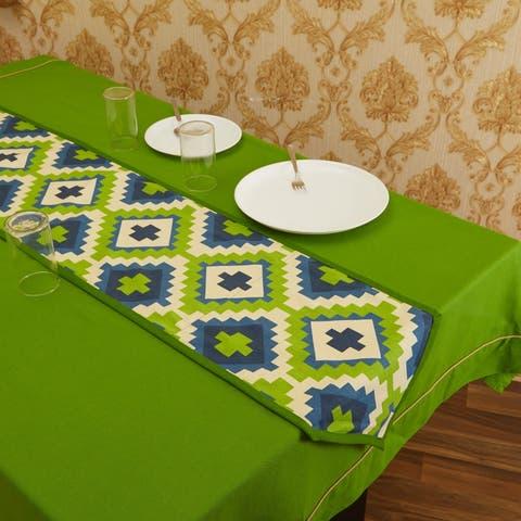 In-Sattva Home Bohemian Signature Print Table Runner