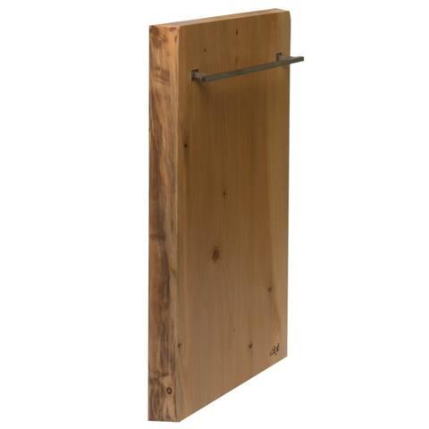 "ALFI brand ABTW1632V 16""x32"" Live Edge Cedar Wood Towel Warmer"