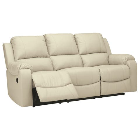 Buy Cream, Leather Sofas & Couches Online at Overstock | Our Best ...