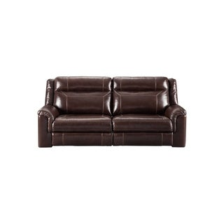 Wyline Contemporary Power Reclining Sofa with Adjustable Headrest Coffee