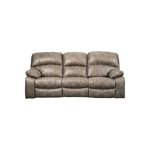 Shop Signature Design By Ashley Dunwell Driftwood Pwr Rec Sofa With