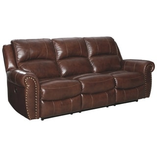 Copper Grove Zaporizhia Harness Reclining Power Sofa