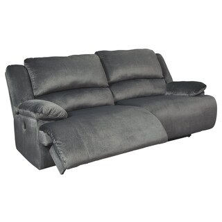 Clonmel Contemporary 2 Seat Reclining Power Sofa Charcoal