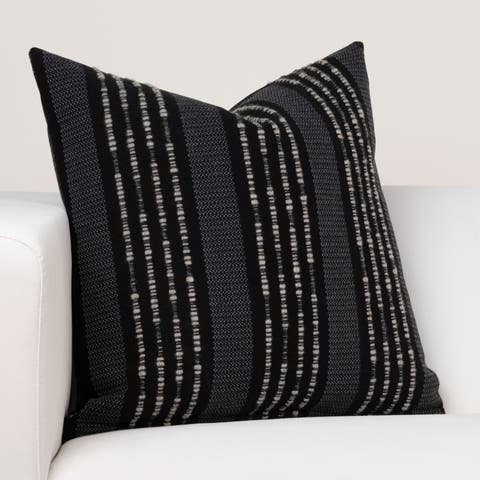 Ernest Hemingway African Afternoon Cotton and Wool Designer Throw Pillow