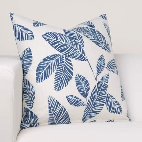 Ernest Hemingway Blue Lagoon Designer Throw Pillow