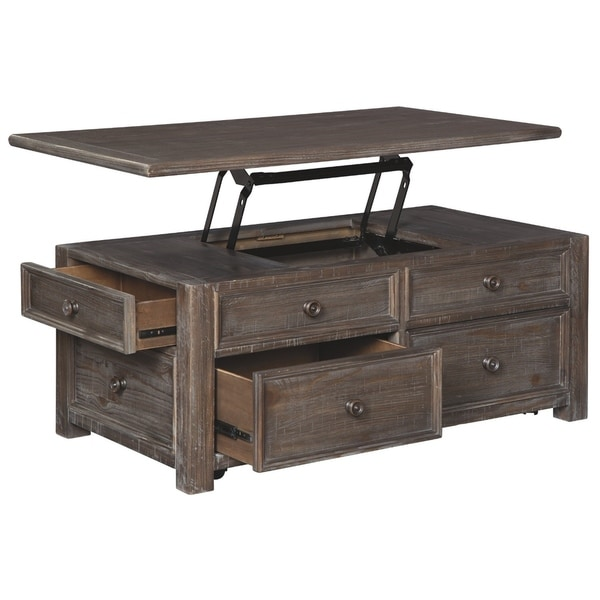 Shop Signature Design By Ashley Wyndahl Rect Lift Top Cocktail Table   On  Sale   Free Shipping Today   Overstock   28082559
