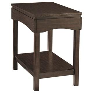 Copper Grove Lviv Brown Wood Side Table