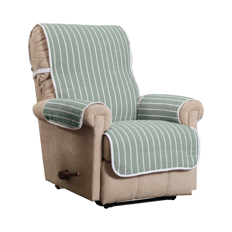 Harper Striped Recliner Furniture