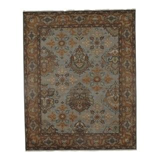 Pasargad DC Wool Handmade Oushak Design Area Rug - 7'11 x 9'9