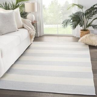 Porch & Den Klipsan Striped Indoor/Outdoor Area Rug