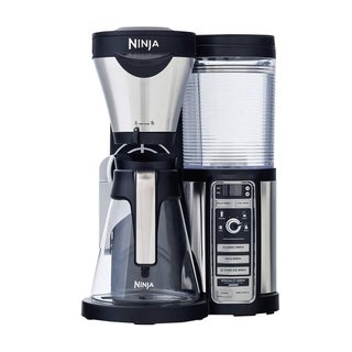 Refurbished Ninja Coffee Bar with Glass Carafe and Auto-IQ One Touch Intelligence
