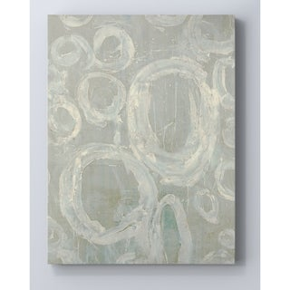 'Splashed II' Premium Gallery Wrapped Canvas