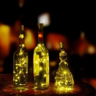 Wine Cork Light Low Power Consumption High Performance High Brightness Energy Saving Waterproof Home Decoration Wedding Party