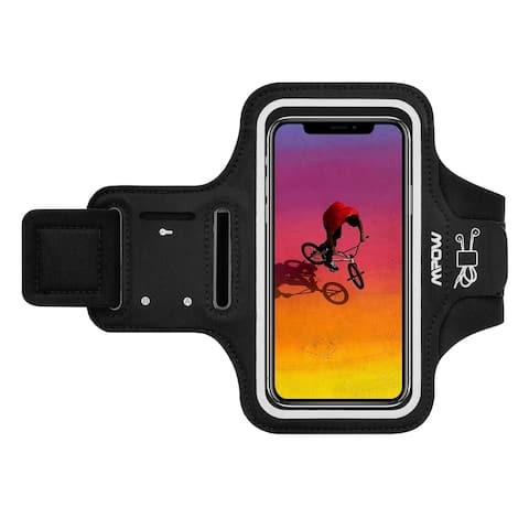 Mpow Phone Armband Armlet Adjustable Running Exercising Armband Arm holder key holder for iPhone xs max/xr/x iphone 8/8 plus/7