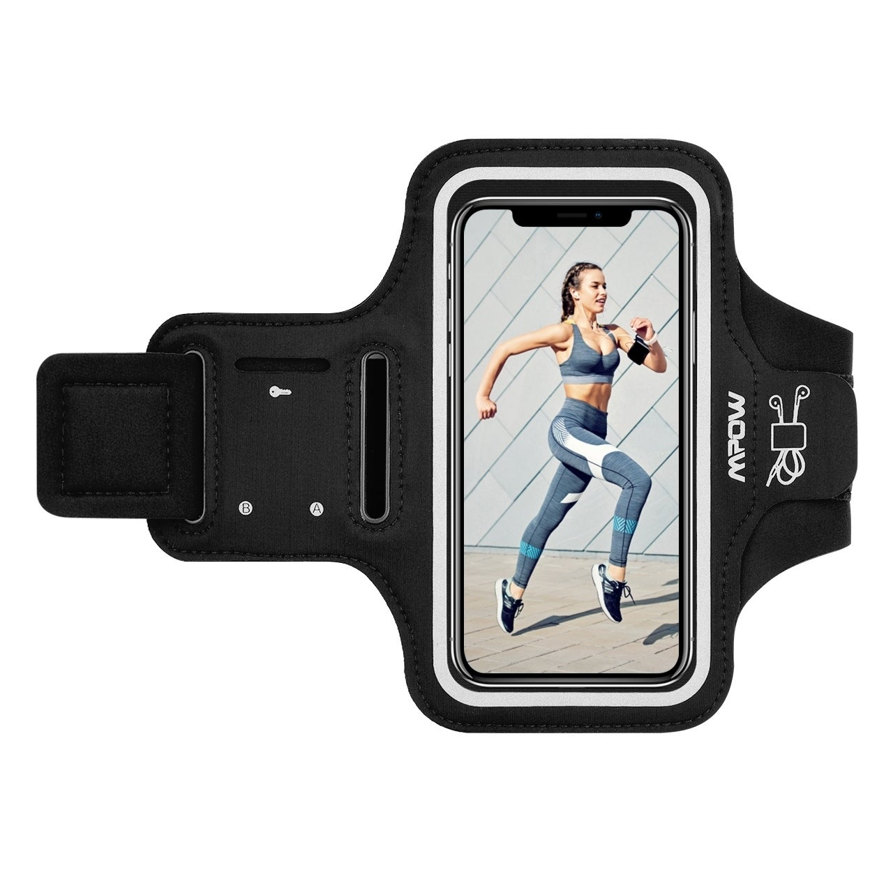 Gym Running Sports Workout Armband Phone Case For Nokia 5.1 Plus Nokia X5