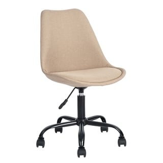 FurnitureR Home Office Task Chair Armless Swivel