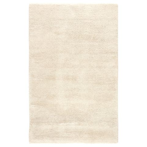 Ibsen Hand-Knotted Solid Area Rug