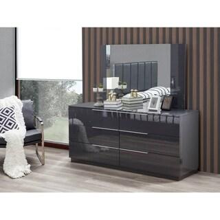 Warsaw 6-Drawer Dresser with mirror