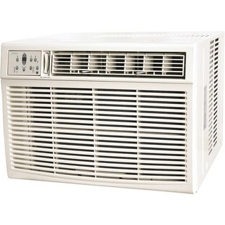 18,500/18,200 BTU 230V Window/Wall Air Conditioner with 16,000 BTU Supplemental Heat Capability - White