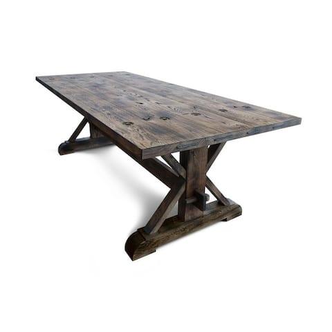 KNEIPE Dining table - Aged Oak - Aged Oak