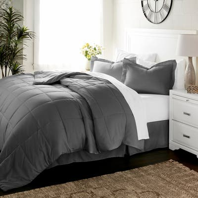 Luxury 8-piece Bed in a Bag Set by Sharon Osbourne Home
