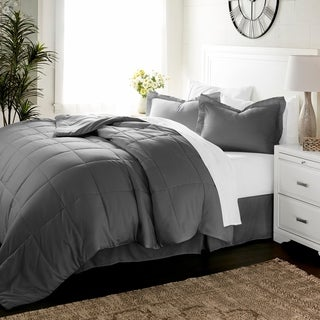Link to Luxury 8 Piece Bed in a Bag Set by Sharon Osbourne Home Similar Items in Bed-in-a-Bag