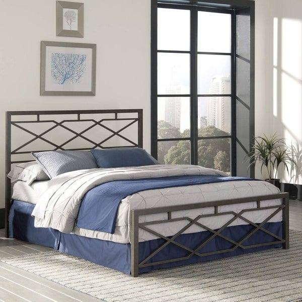 Shop Kotter Home Bronze Metal Iron Bed Free Shipping Today Overstock 28093833