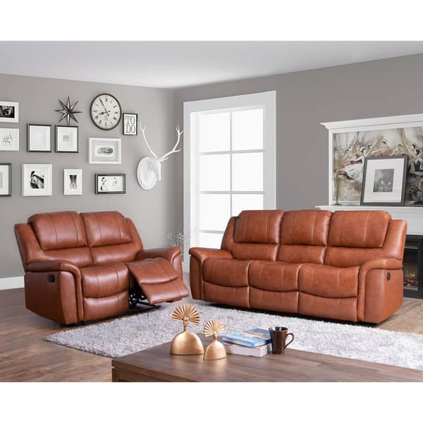 Peachy Shop Copper Grove Forbach Top Grain Sofa And Loveseat Ibusinesslaw Wood Chair Design Ideas Ibusinesslaworg