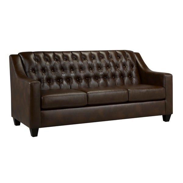 Keighley Top Grain Leather Sofa. Opens flyout.