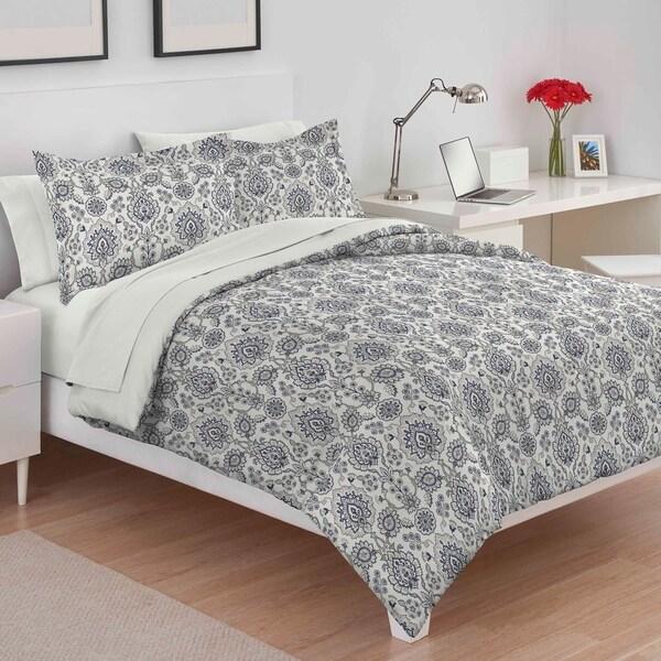 Utica William Ivory Comforter Set