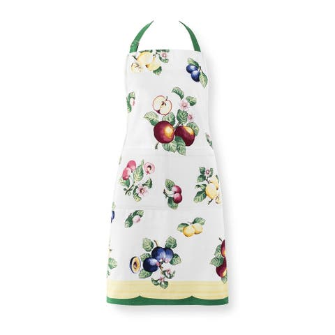 "Villeroy and Boch French Garden Kitchen Apron - 28""x33"""