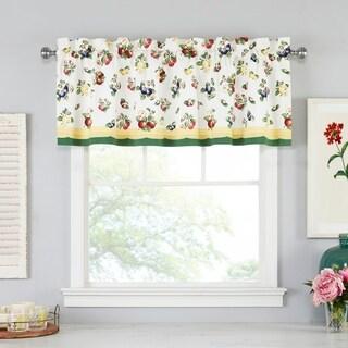 "Villeroy and Boch French Garden Window Valance - 60"" W x 15"" L"
