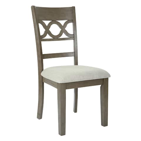 OSP Home Furnishings Carmona Dining Chair (Set of 2)
