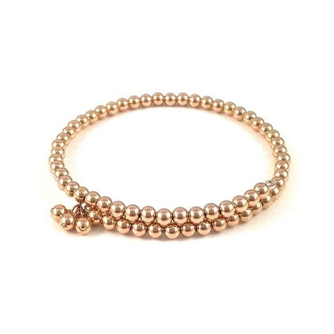 "Handmade Rose Gold Bangle - 7.5"" by Rebecca Cherry USA"