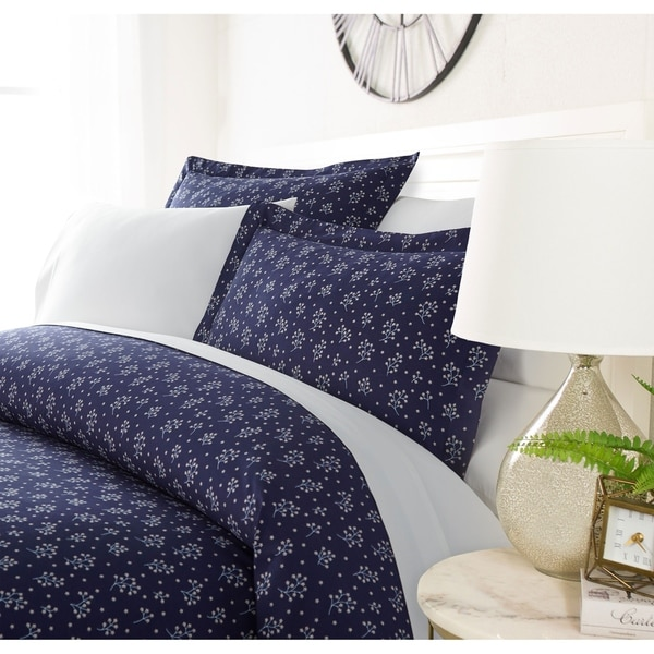Luxury Evening Blooms 3 Piece Duvet Cover Set by Sharon Osbourne Home. Opens flyout.