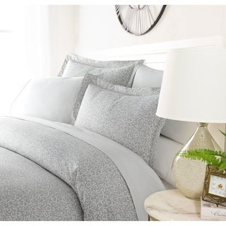 Link to Luxury Silver Trellis 3 Piece Duvet Cover Set by Sharon Osbourne Home Similar Items in Duvet Covers & Sets