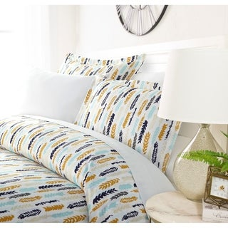 Link to Luxury Feathered Boa 3 Piece Duvet Cover Set by Sharon Osbourne Home Similar Items in Duvet Covers & Sets