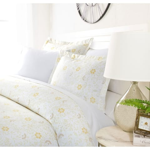 Luxury Botanical Garden Duvet Cover Set by Sharon Osbourne Home