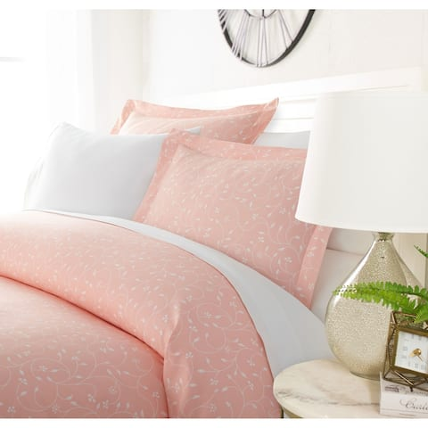 Luxury Rosy Blossoms 3 Piece Duvet Cover Set by Sharon Osbourne Home