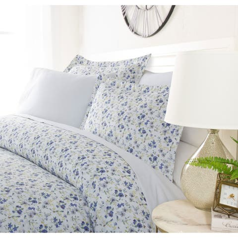 Luxury Spring Blooms 3 Piece Duvet Cover Set by Sharon Osbourne Home