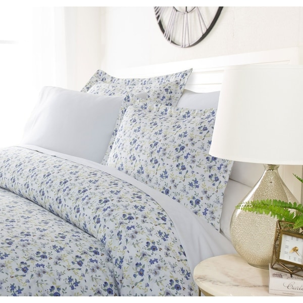 Luxury Spring Blooms 3 Piece Duvet Cover Set by Sharon Osbourne Home. Opens flyout.