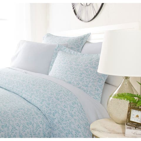 Luxury Fountain 3 Piece Duvet Cover Set by Sharon Osbourne Home